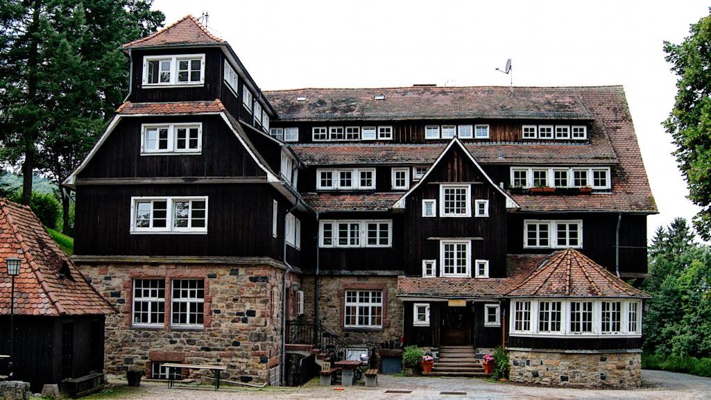 Goethehaus ohne Menschen